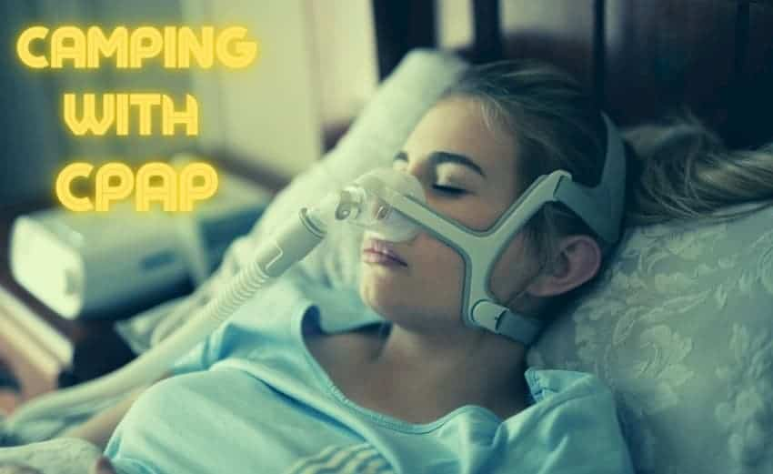 camping with CPAP
