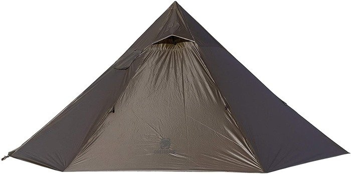 onetigris iron wall stove tent review